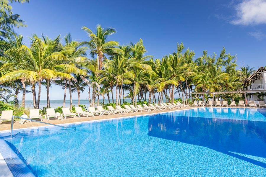 Riu creole piscina