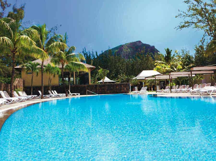 Riu Le Morne piscina