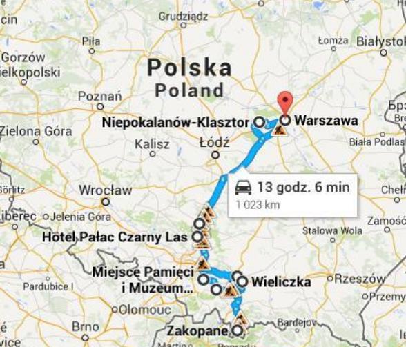 Perigrinaçao Polonia