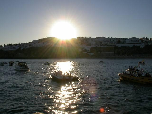 Pôr-do-sol Algarve