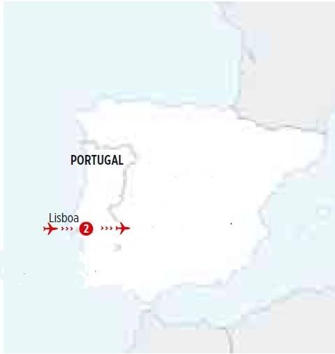 Roteiro de 4 dias  Vive Lisboa, saídas Quintas todo o ano