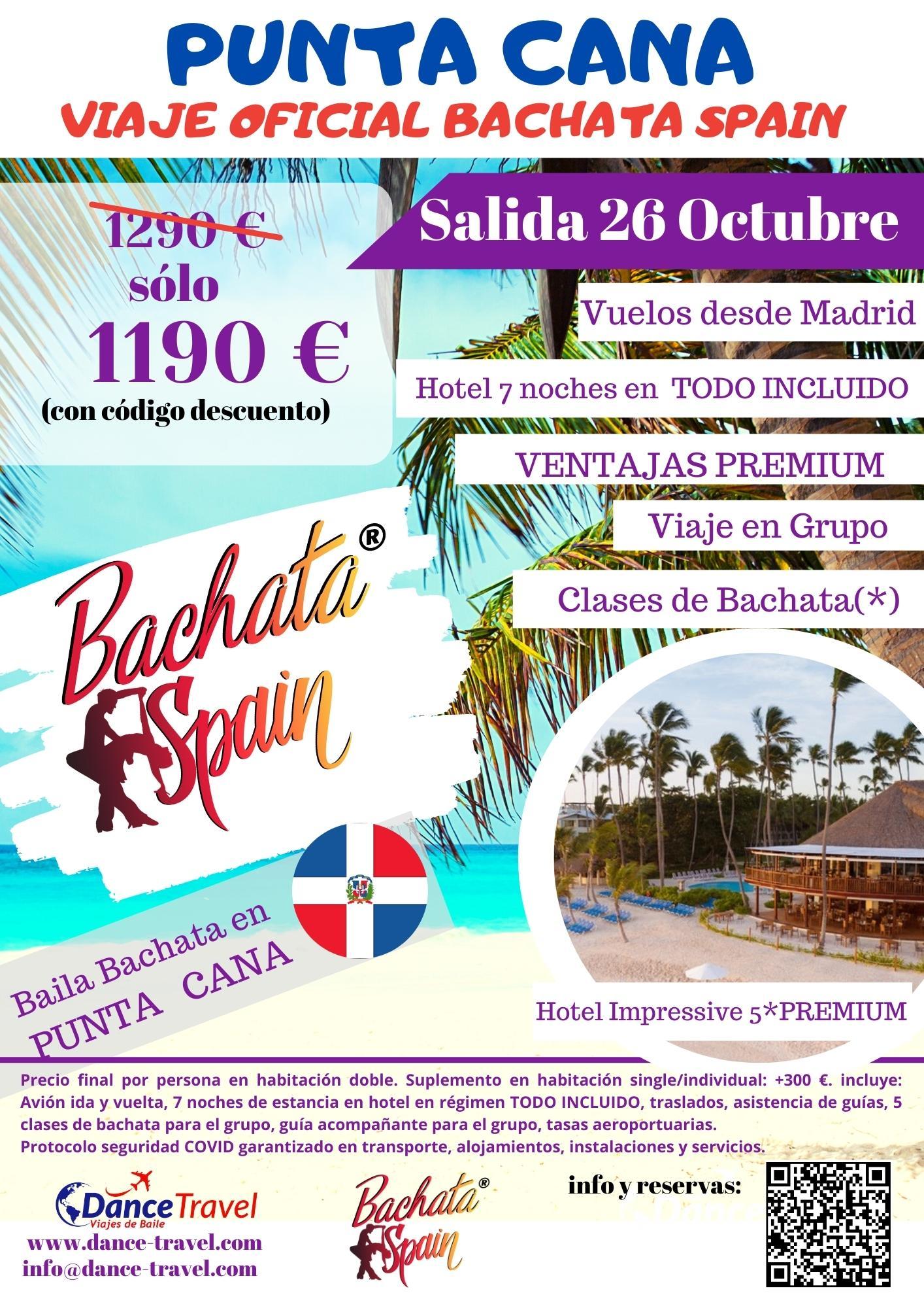 Punta Cana a Ritmo de Bachata Octubre 2021