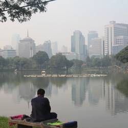 Relax en Lumpini Park