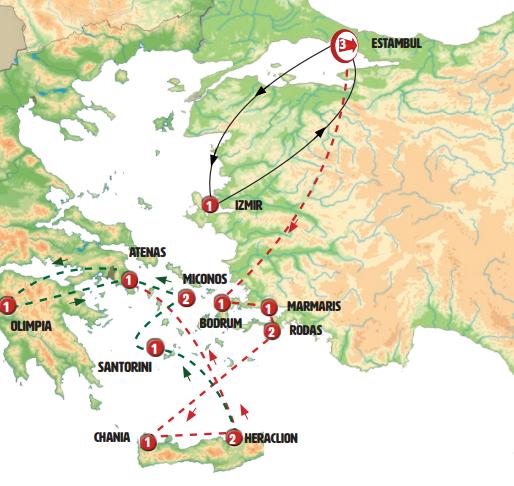 Estambul y Efeso